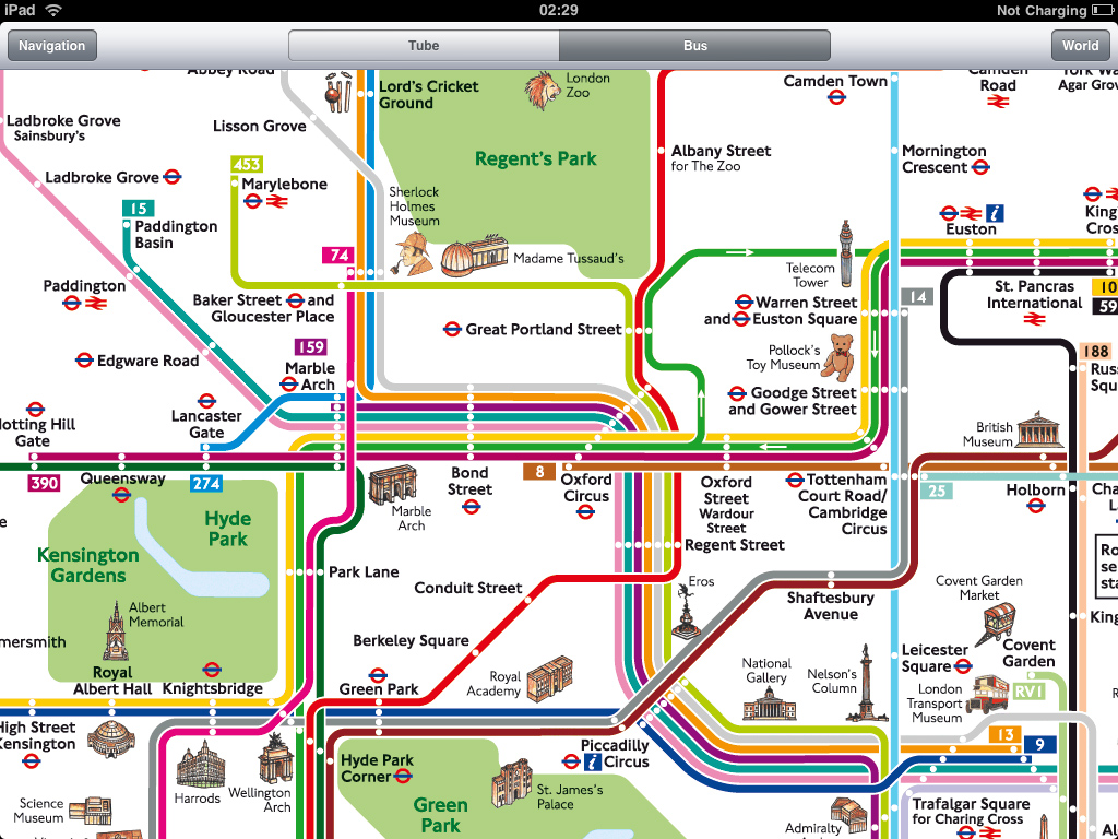 Places Of Interest In London Map London Attractions Map Printable – London Tourist Maps