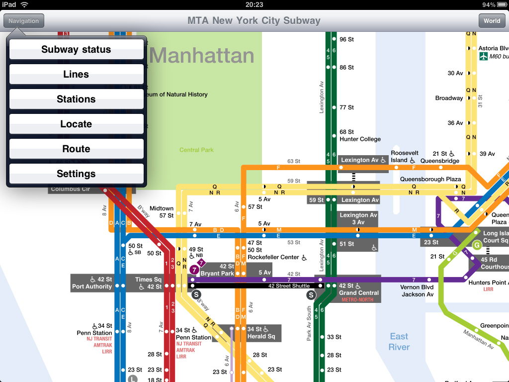 Download Nyc Subway Map Iphone.New York Subway Application For Ipad