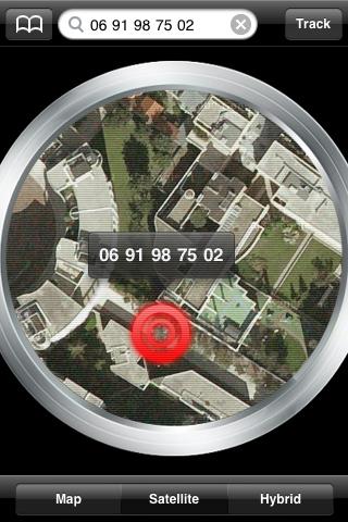 Phone Tracker iPhone Application