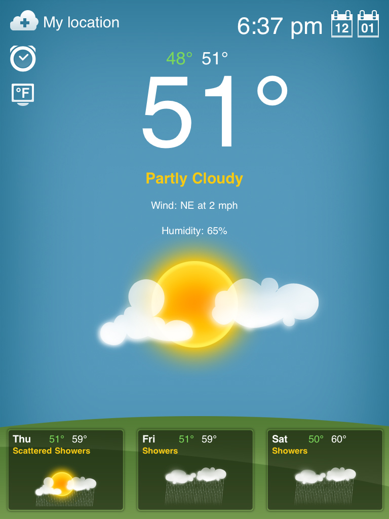 Weather Download App